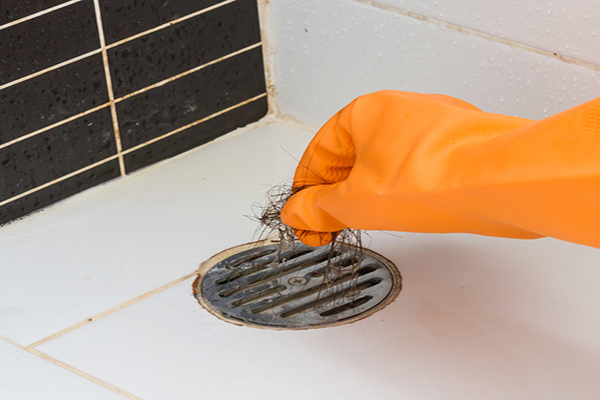 Unclog-a-Shower-Drain
